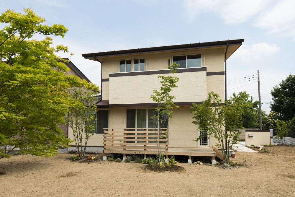 端正なたたずまいに心うるおす優しい住宅 群馬県太田市